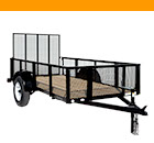 Triple Crown Utility Trailer